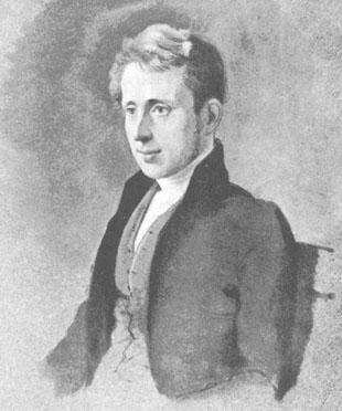 Joseph Pease pictured in 1832, two years after the founding of Middlesbrough as a 31-year-old.