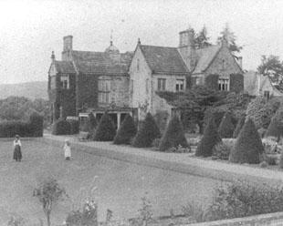 The Northern Echo: Idyllic scene: Balder Grange in the 1890s. Frank Gibson bought it in 1843 and enlarged the existing house to make a country mansion, where he indulged in his hobby of landscaping. The picture shows part of Gibson's gardens.