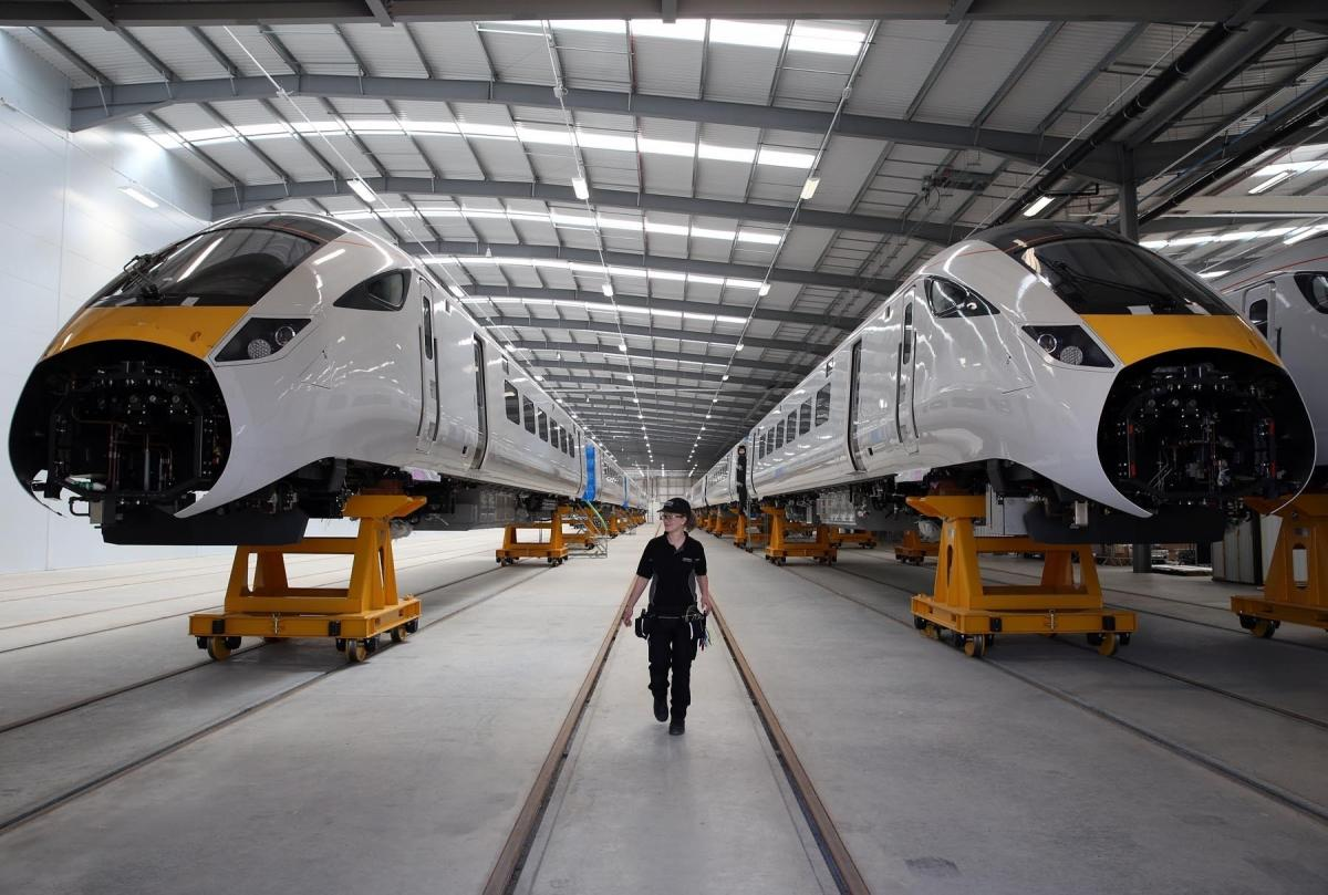 Row as Newton Aycliffe train builder misses out on £1 5bn deal | The