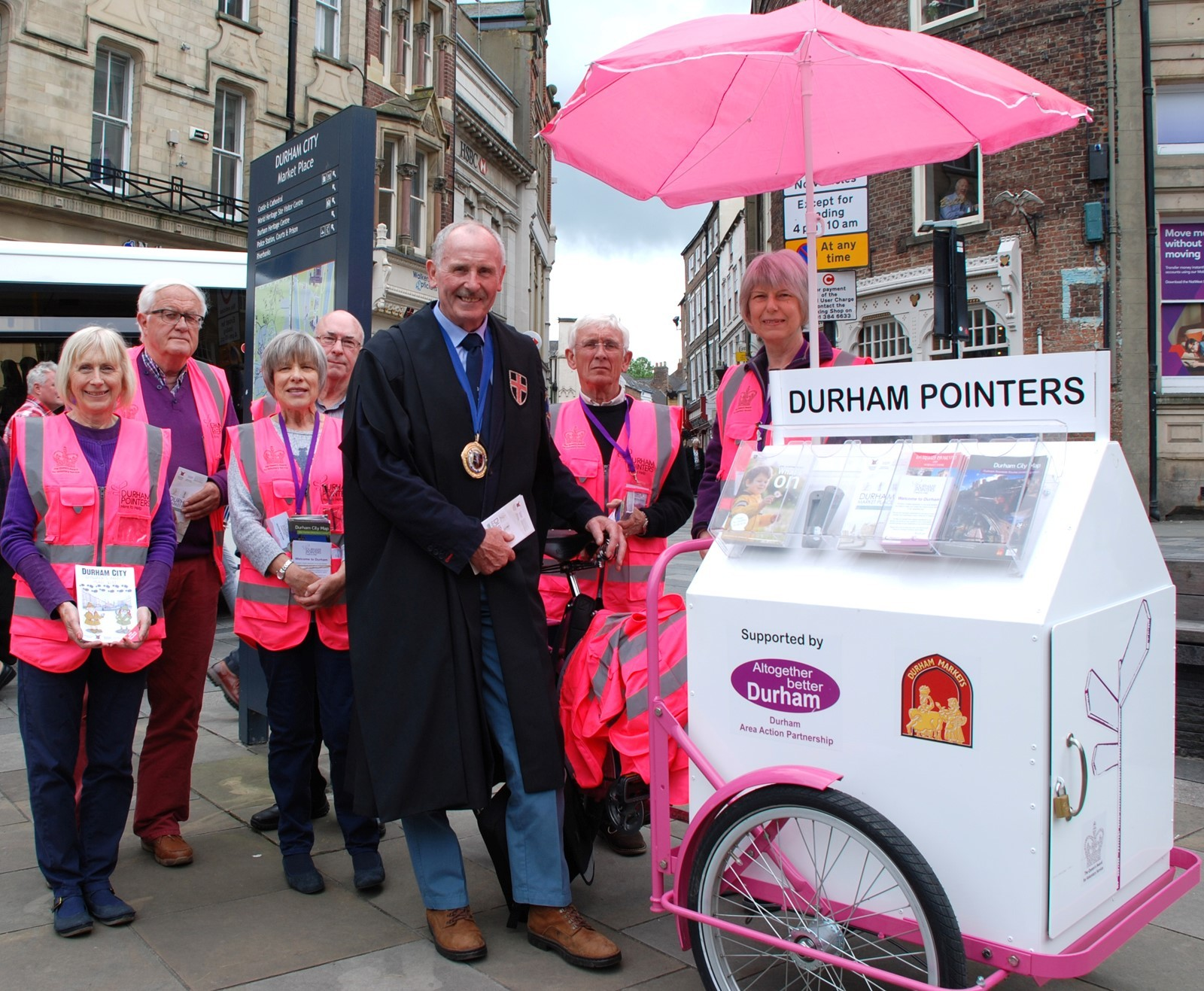 Durham Pointers Get Backing From City Of Durham Freemen The