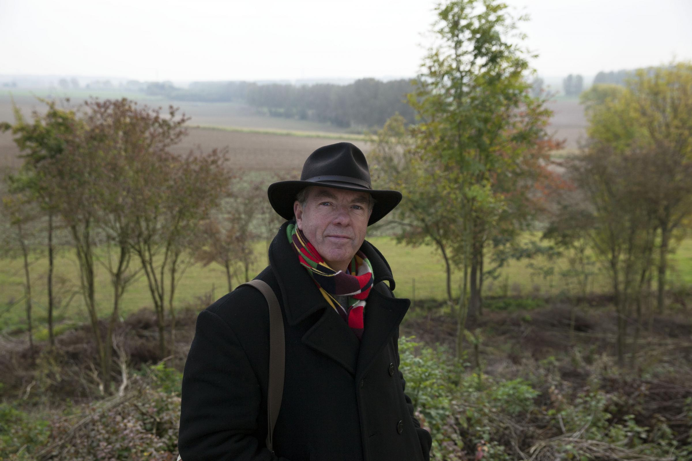 The Somme 1916: From Both Sides of the Wire. Peter Barton at the German stronghold of the Butte de Warlencourt