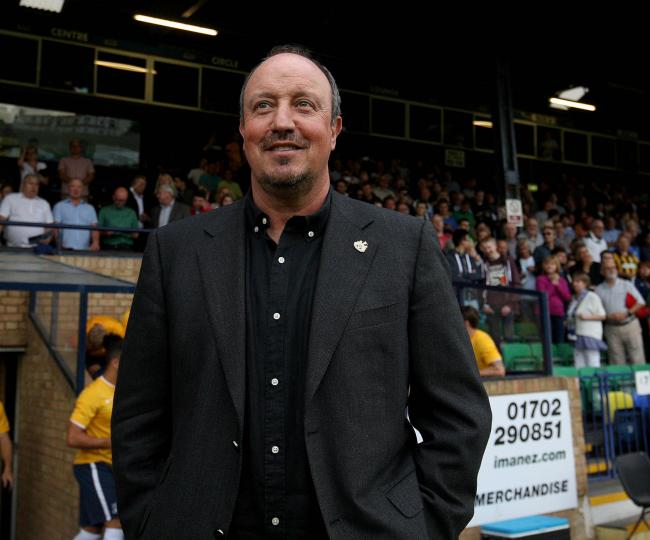 Rafael Benitez watched Newcastle continue their pre-season preparations with a 2-0 win at Southend