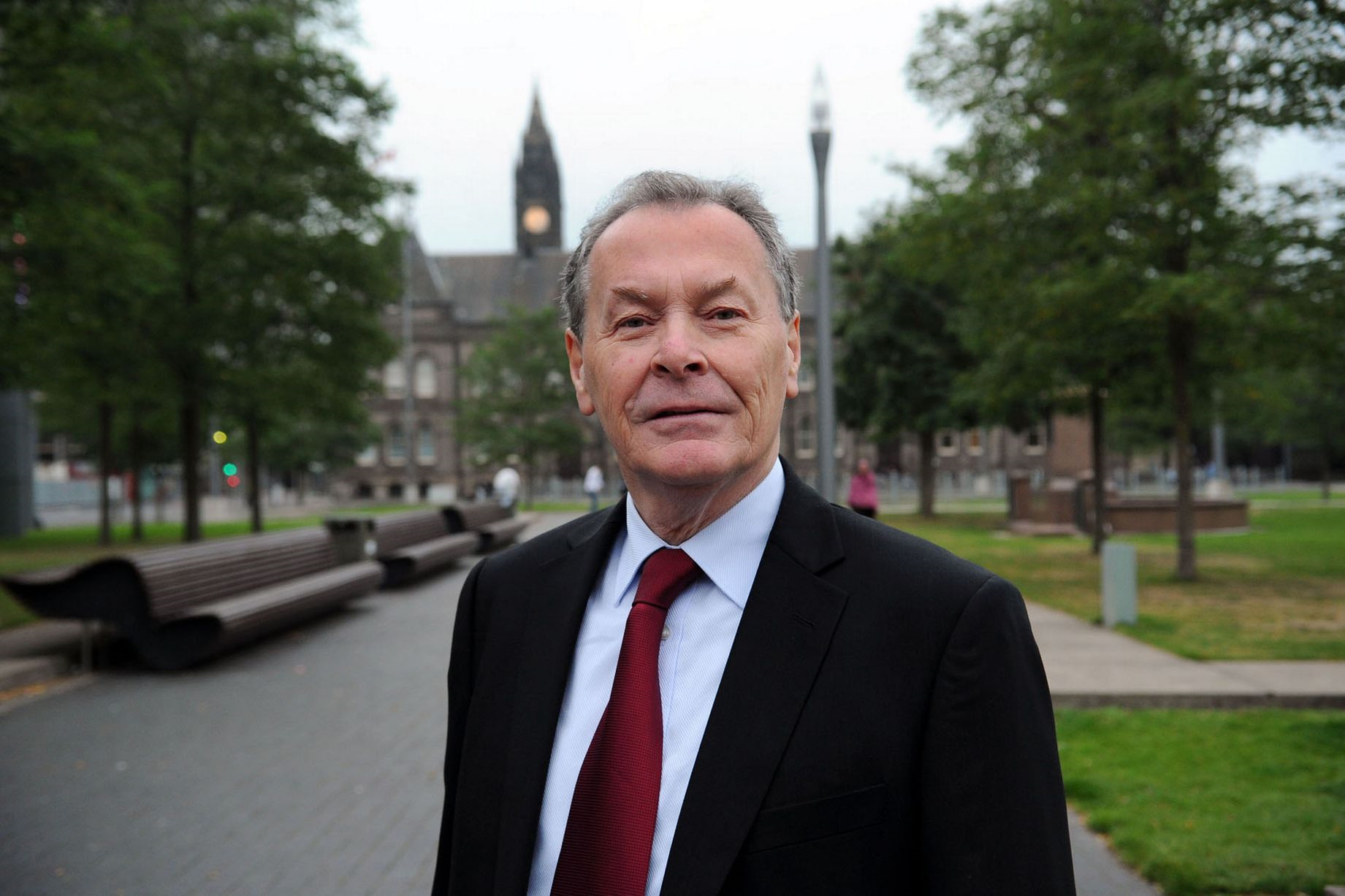 RE-ELECTION: Middlesbrough Mayor Dave Budd has confirmed he is not standing for re-election
