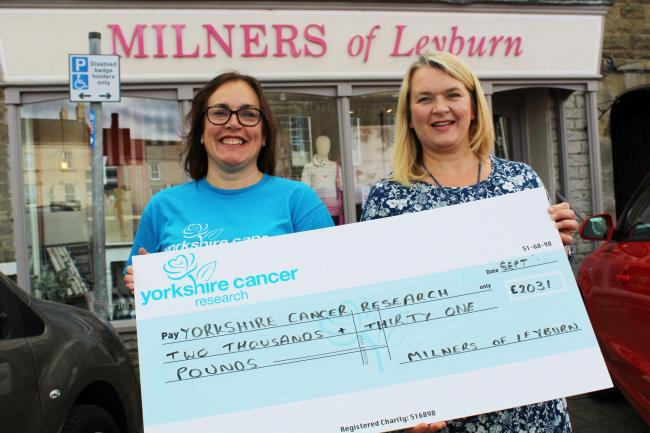 MEMORY Leonie Garrard Director At Milners Of Leyburn Right Presents A