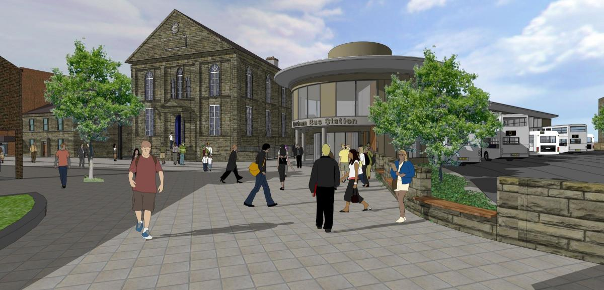Plans For New 8m Bus Station For Durham Revealed The Northern Echo
