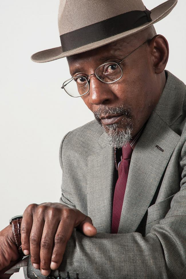 POET: Linton Kwesi Johnson performed during Black History Month