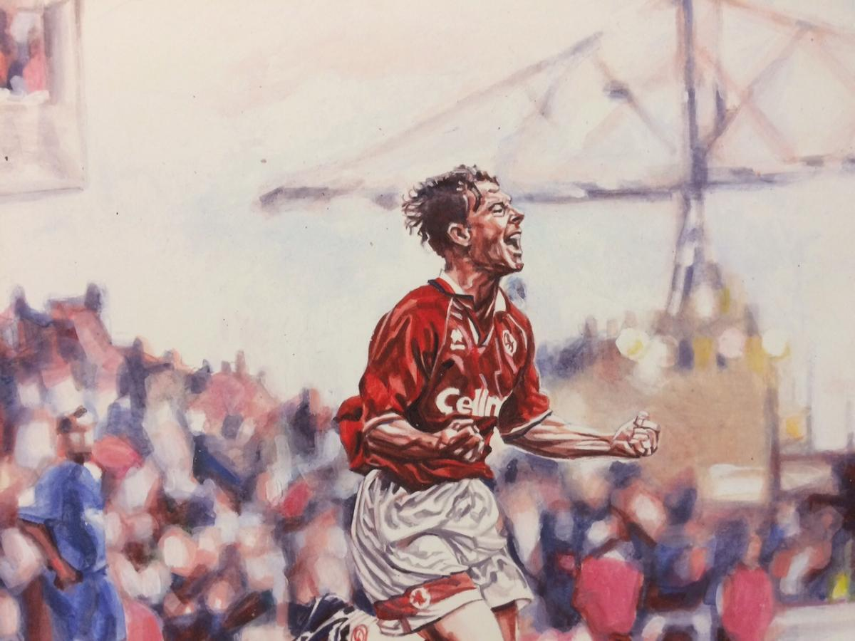 Boro legends team up to support art exhibition telling the