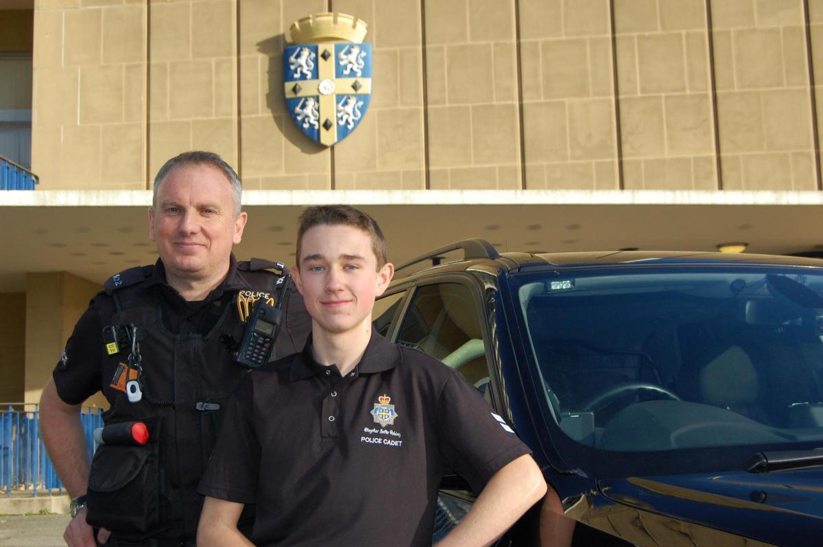 willington teenager takes over top police job for the day from willington teenager takes over top police job for the day