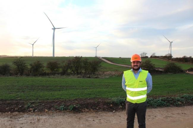 Wind farm up and running by end of year | The Northern Echo