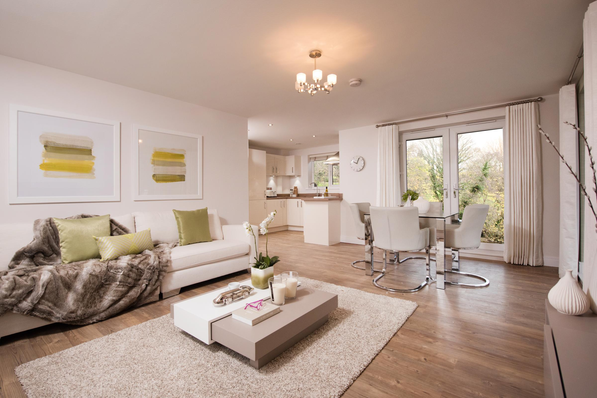 Awesome The Interior Of One Of The 36 New Luxury Riverside Homes That Have Been  Completed At