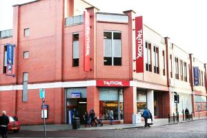 TK Maxx, which has now closed, on Darlington's Crown Street. Picture: SARAH CALDECOTT