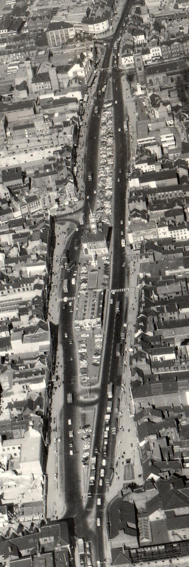 The Northern Echo: WIDE STREET: Looking north up the Stockton in 1967, before the streets on the east side leading to the river were replaced