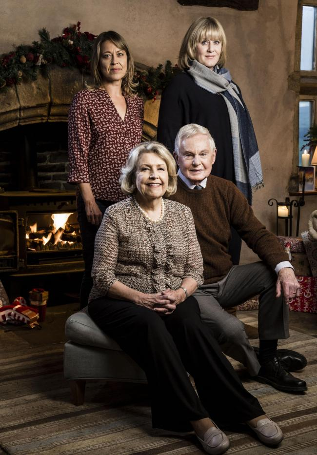 the last tango in halifax christmas special brings back the characters of gillian nicola walker