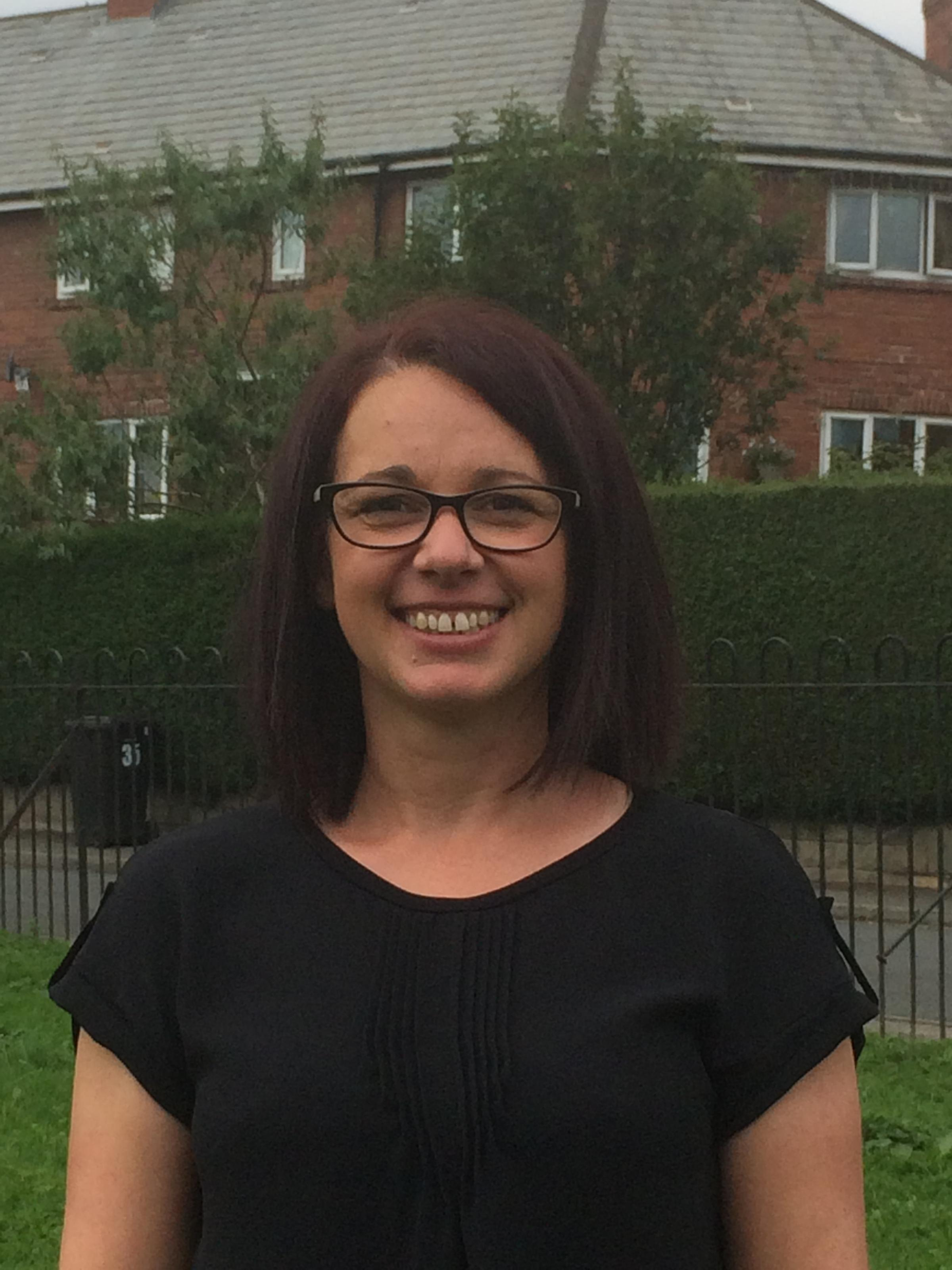 VOLUNTEER: Natalie Miles, volunteer co-ordinator for Scarborough Whitby and Ryedale Mind