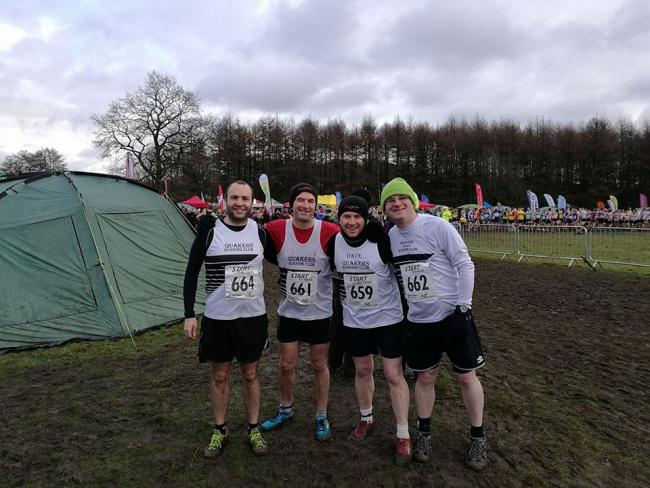Some of our runners at last weekend's National Cross Country Championship