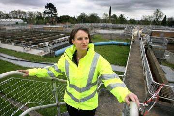 Northumbrian Water CEO Heidi Mottram sets out strategy before COP26