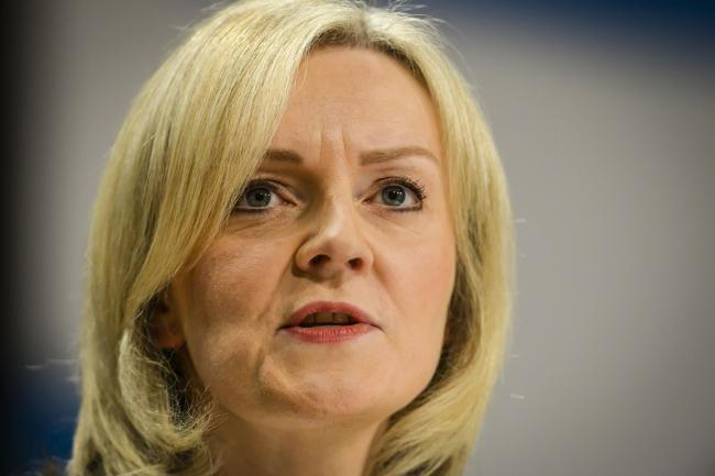 NO QUICK FIX; Justice Secretary Liz Truss who is saying that prison numbers cannot be cut with