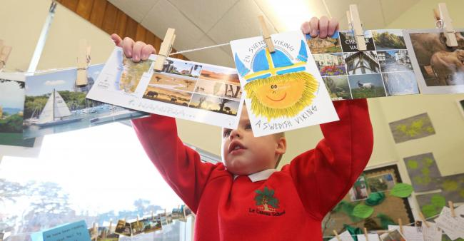 Catterick Garrison pupils overwhelmed with postcards from around the