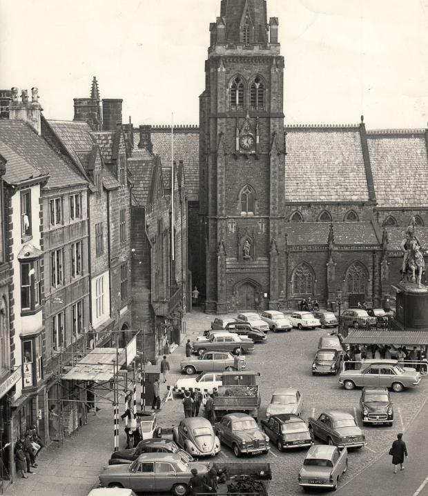 The Northern Echo: LIFE GOES ON: Almost nothing has changed since this picture was taken in August 1965, but look at the little bits of life it captures: the coal lorry at the front, the teenagers lounging on the windowsill bottom left, the old men on the bench outside the