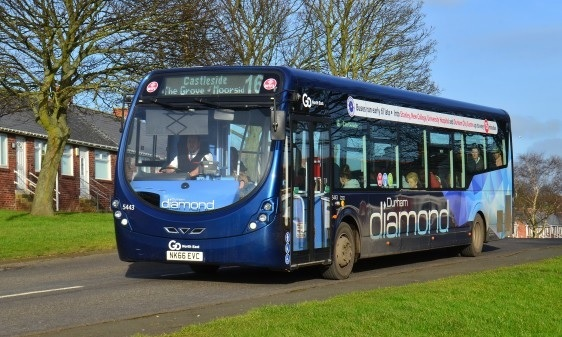 New Buses Introduced On Durham Diamond Routes The Northern Echo