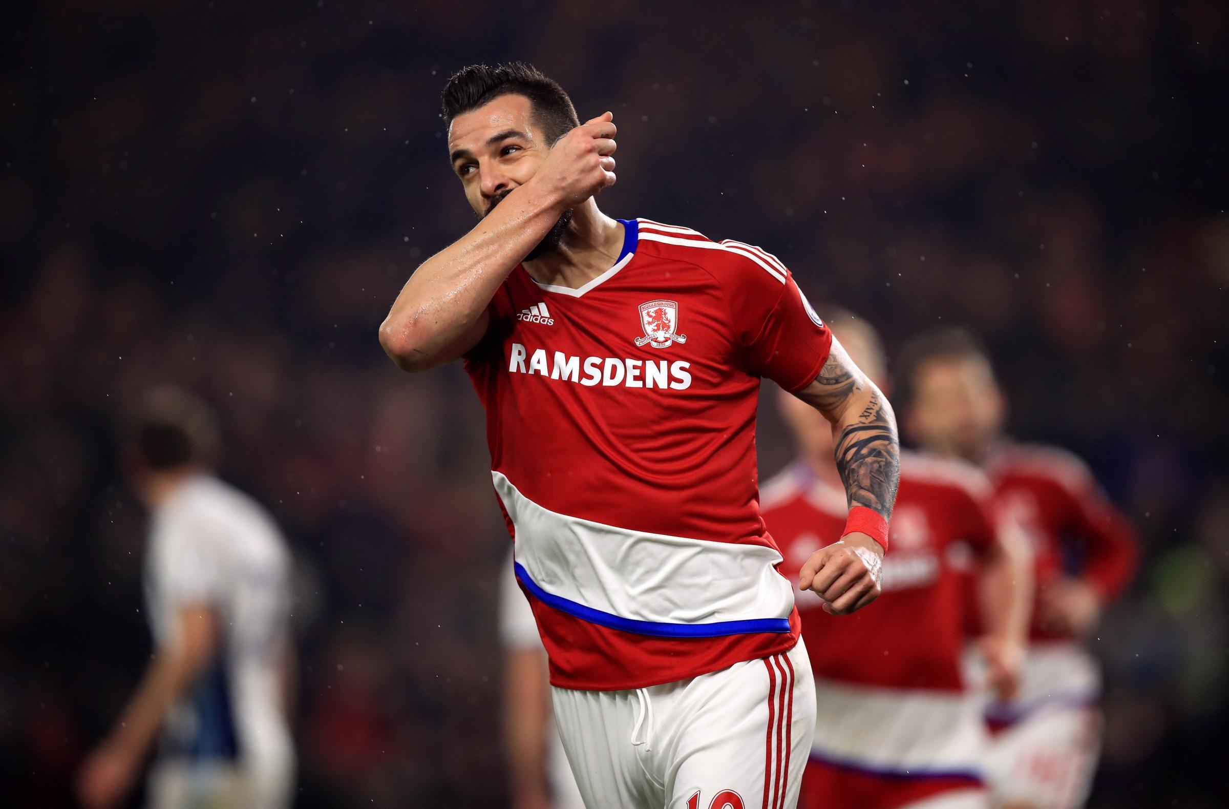 Middlesbrough Steve Agnew backs Alvaro Negredo to spark an