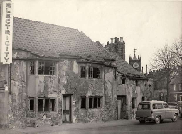 The Northern Echo: No 8: The 17th Century cottages were demolished in 1962 and the land has lain vacant ever since