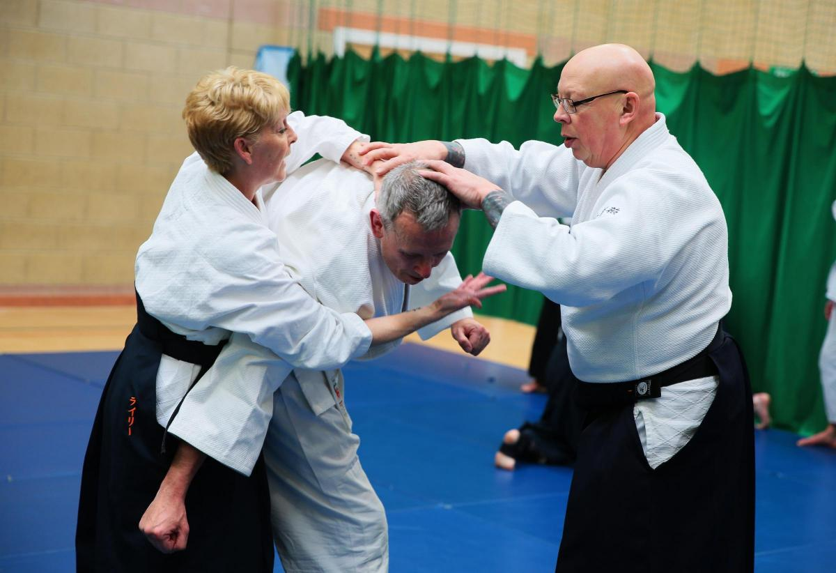 Aikido Master Pays Visit To New Class In Durham