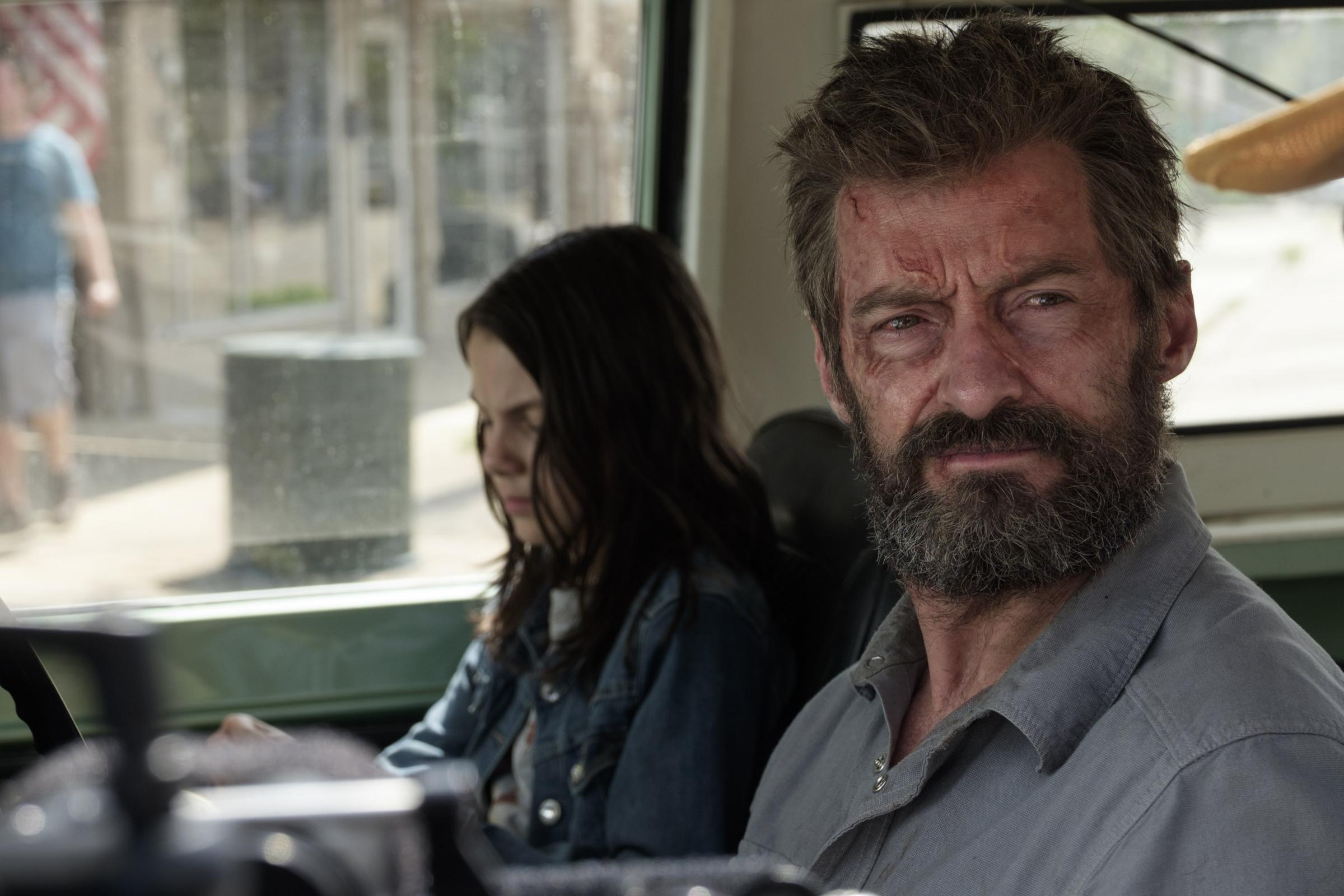 View Hugh Jackman Beard Wolverine JPG