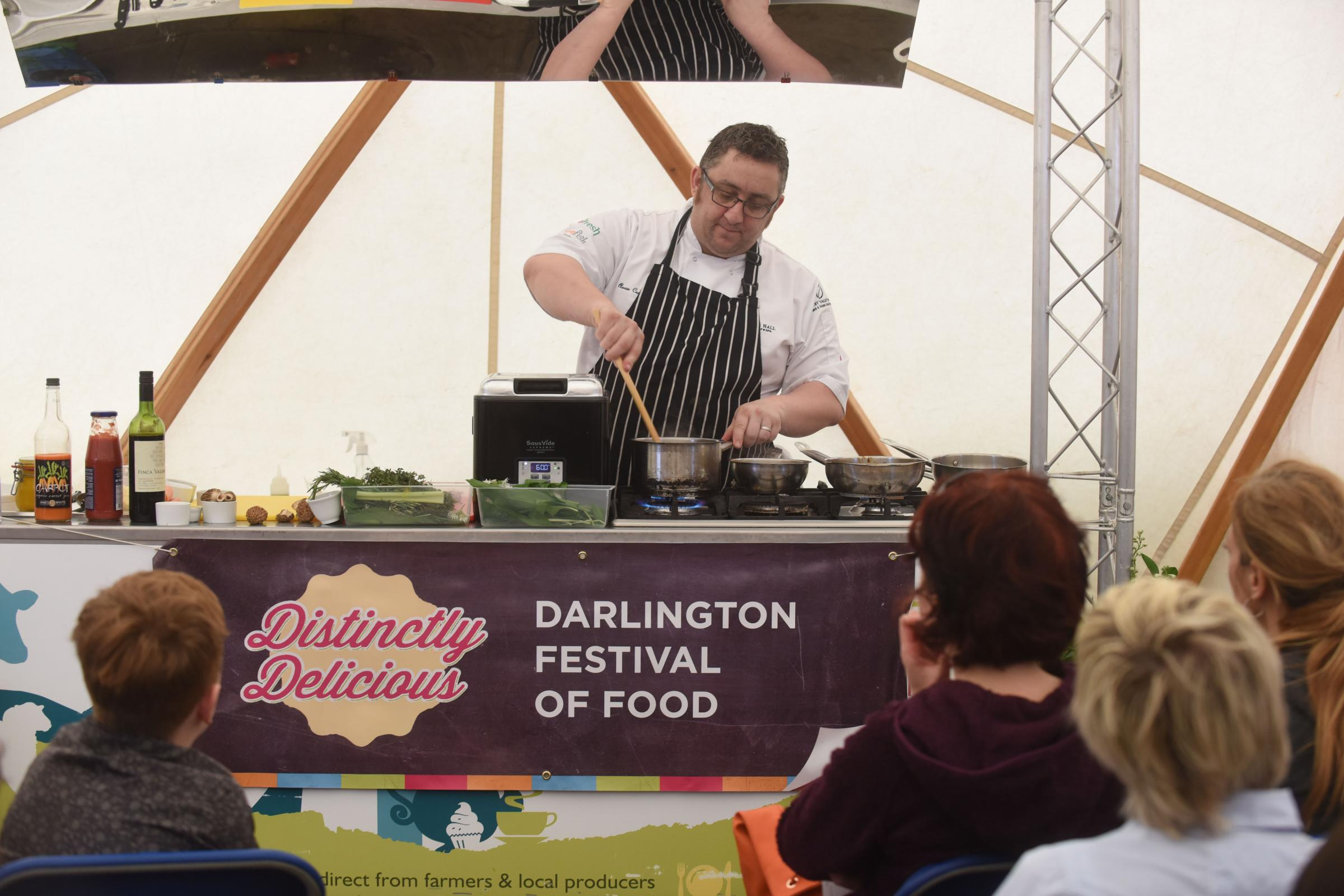Food Festival: Darlington market place this weekend
