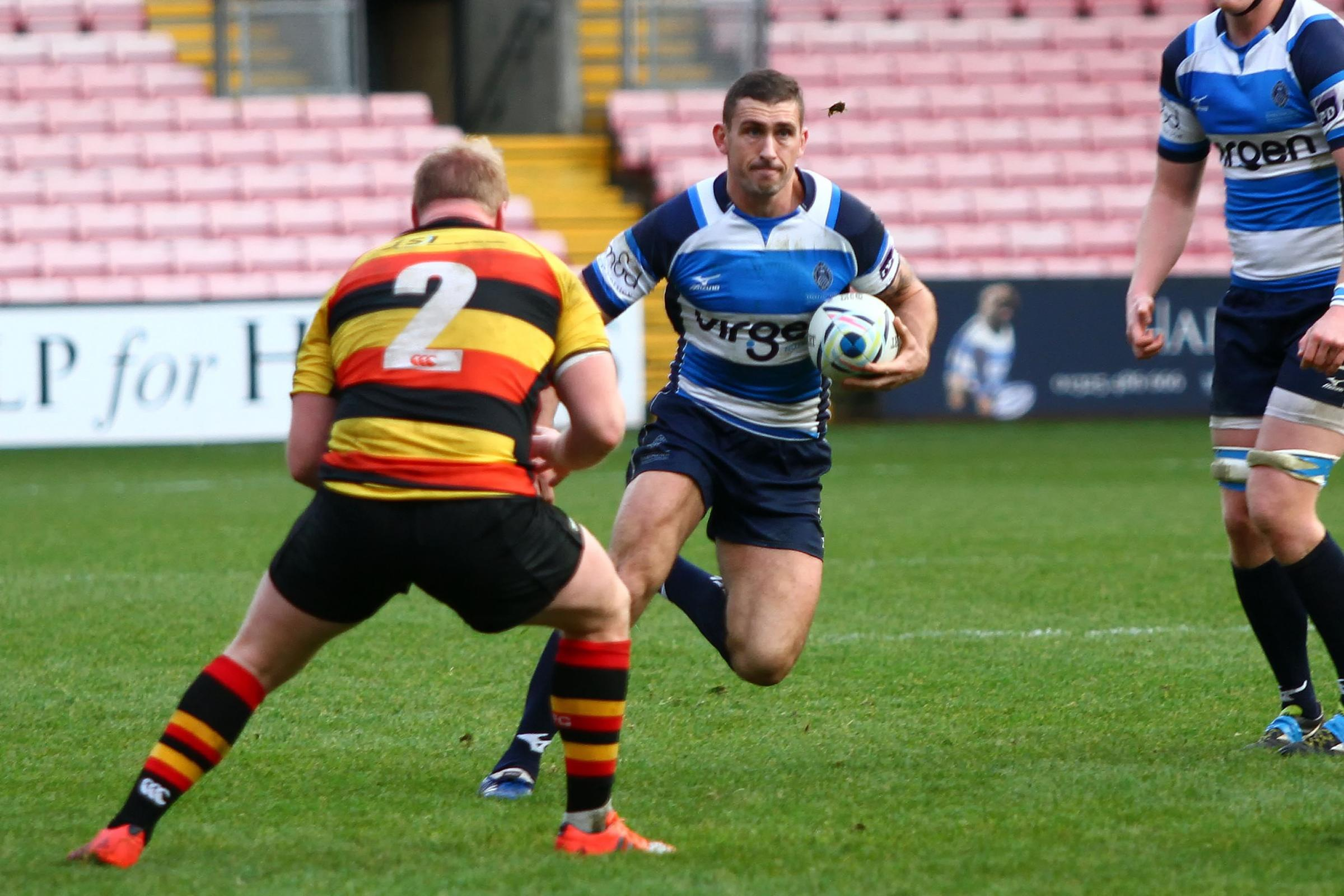 NEW DEAL: Garry Law of Darlington Mowden Park. Picture: HARRY COOK/SHUTTER PRESS