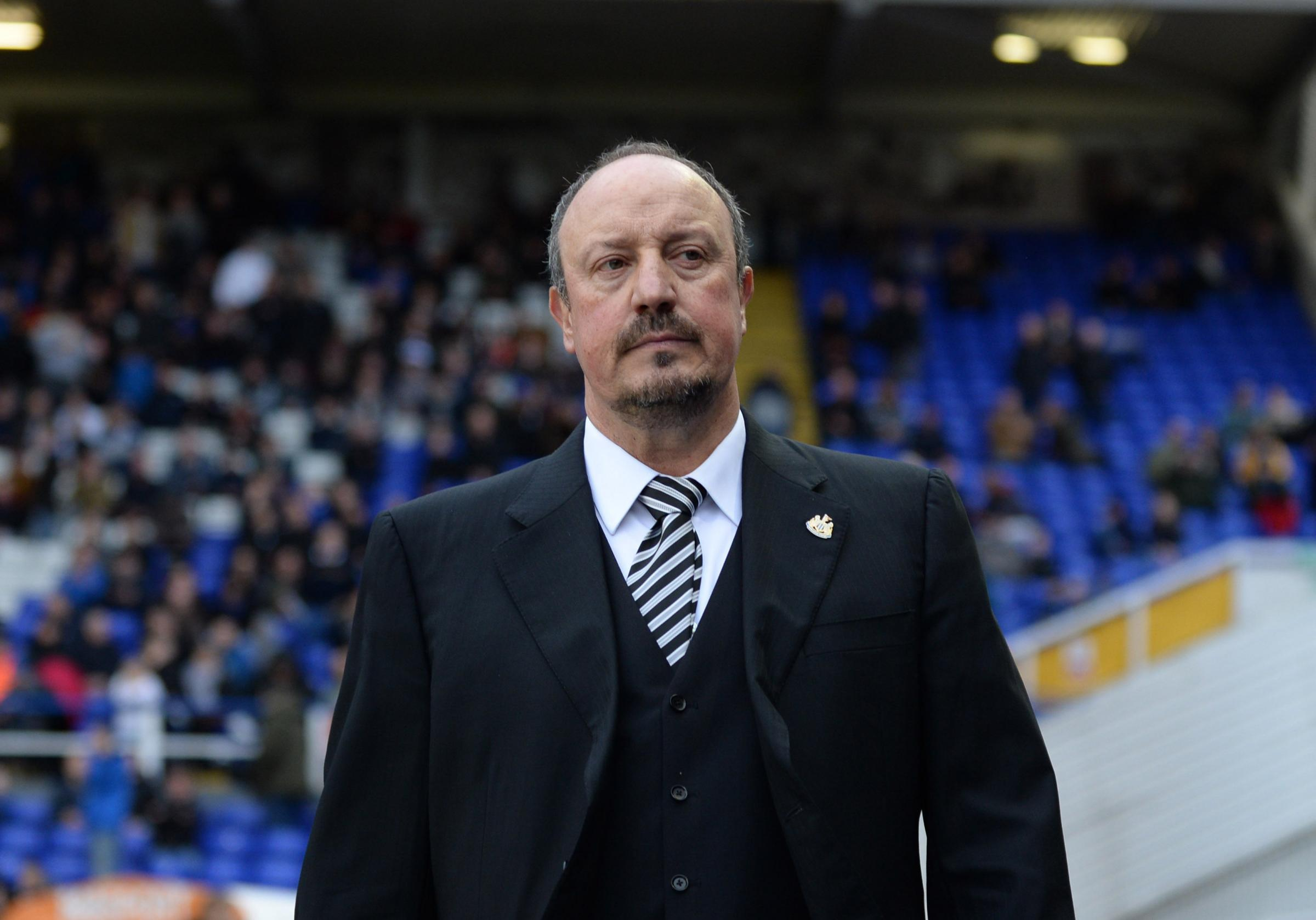 PORTUGUESE DATE: Rafael Benitez will take his Newcastle United side to Braga as part of their pre-season schedule