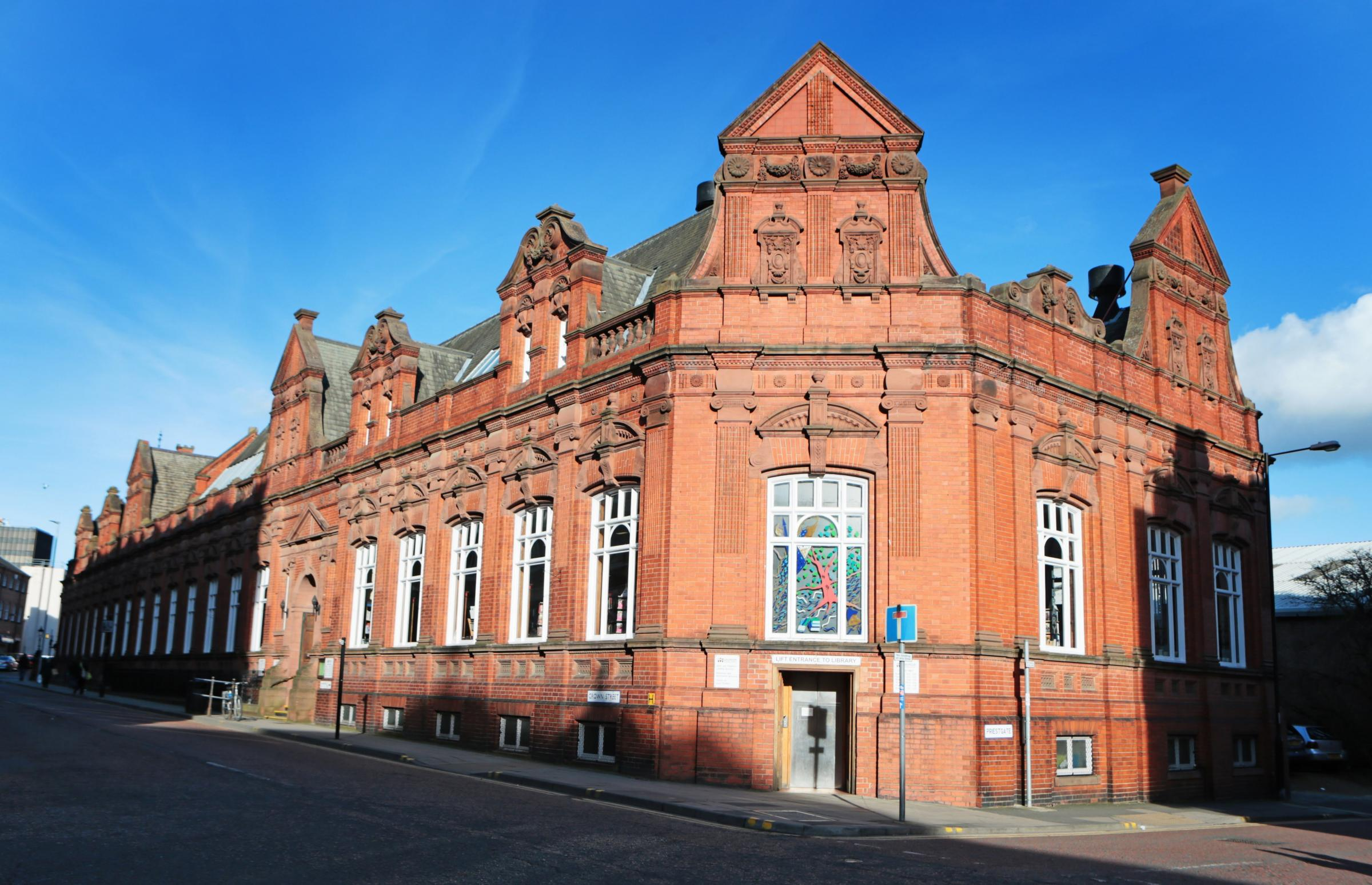 COUNCIL: Darlington Library picture: SARAH CALDECOTT.