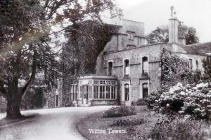 GOING UP: Witton Towers in Witton-le-Wear, home of many influential people and wealthy industrialists, features in a new book about the village