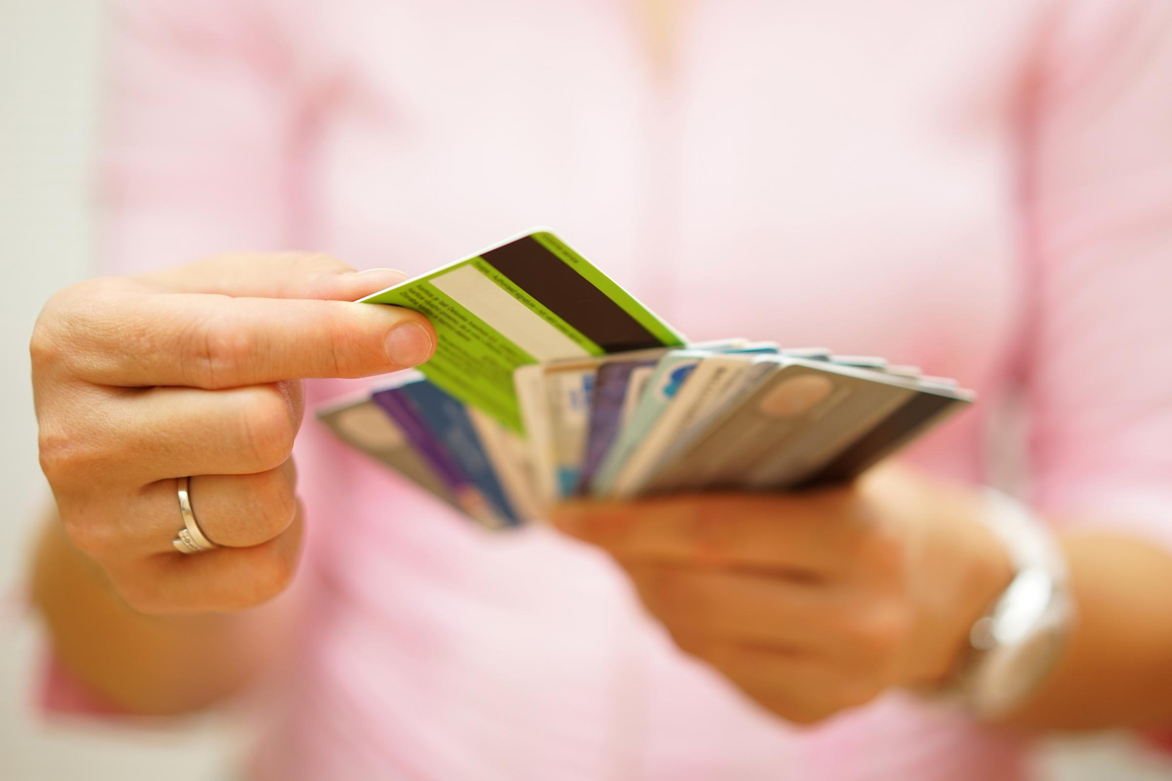 Growing problem: Credit card debt is increasing at its fastest rate in a decade