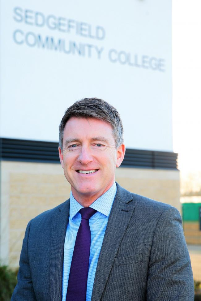 PROUD: Headteacher David Davies has spoken of his delight at the oustanding rating by Ofsted Picture: SARAH CALDECOTT