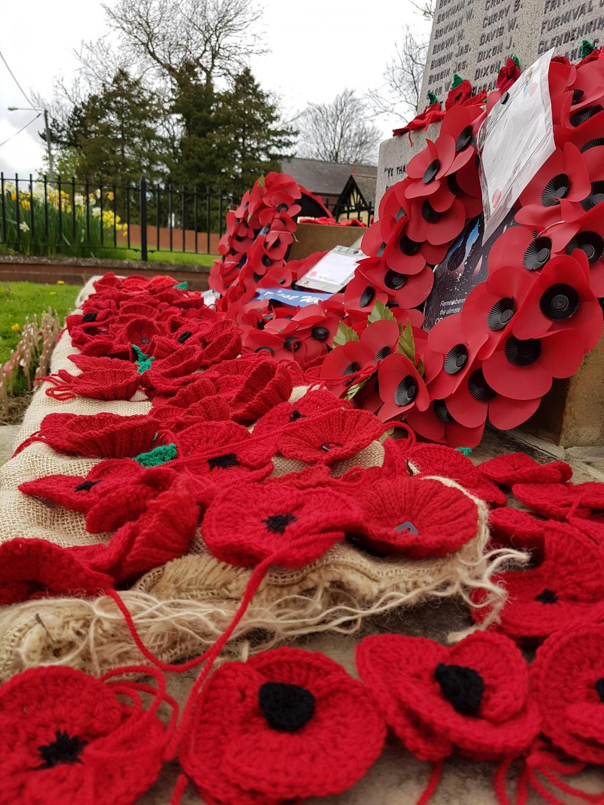 plan to collect a handmade poppy to symbolise the every county