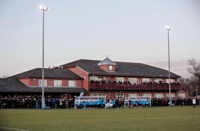 Darlington FC's ground at Blackwell Meadows