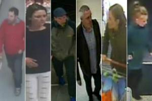 Do you recognise these suspects caught on CCTV?