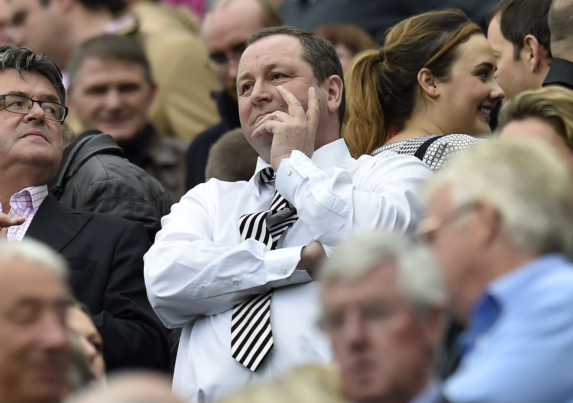 ONGOING DISCUSSIONS: Newcastle United owner Mike Ashley