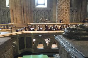 Durham Cathedral transformed for filming of Marvel's Avenger: Infinity War