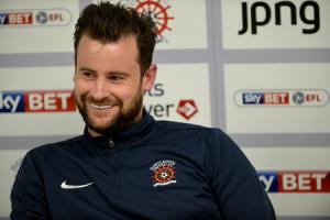 RELAXED: Matthew Bates speaking to the media this week Picture: FRANK REID
