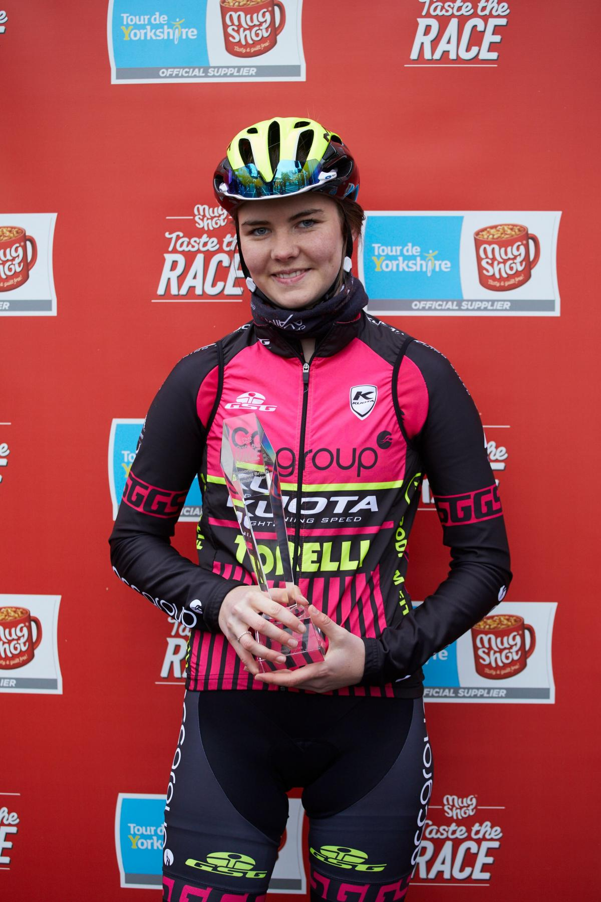 Gwenno, 17, pits her wits against the best in Tour de Yorkshire