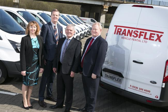 SWITCH Transflexs Senior Team Of Tina Lynas Gary Henry Peter Abdale And Nick