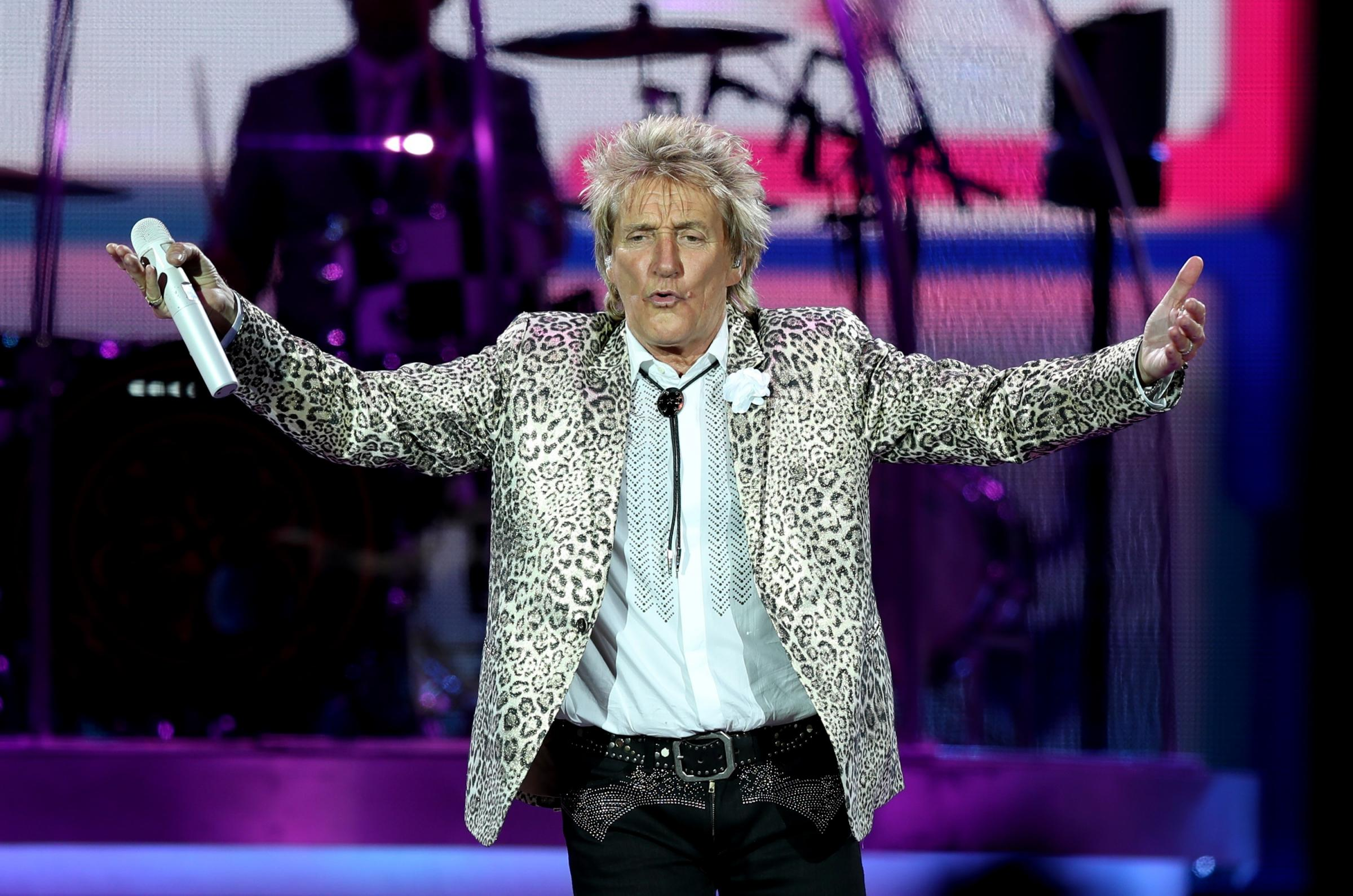 PERFORM: Rod Stewart will be performing at York Racecourse next year Picture: PA