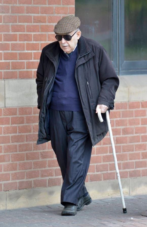 Retired Methodist minister Reverend John Price, who is on trial for indecently assaulting boys