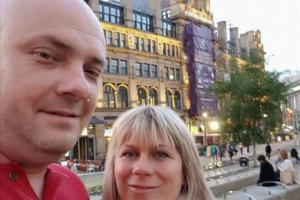 APPEAL: Angelika and Marcin Klis, from York