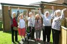 Residents celebrating the news that their Community Room at Priory Close, Northallerton has been saved from closure. Picture: Richard Doughty Photography
