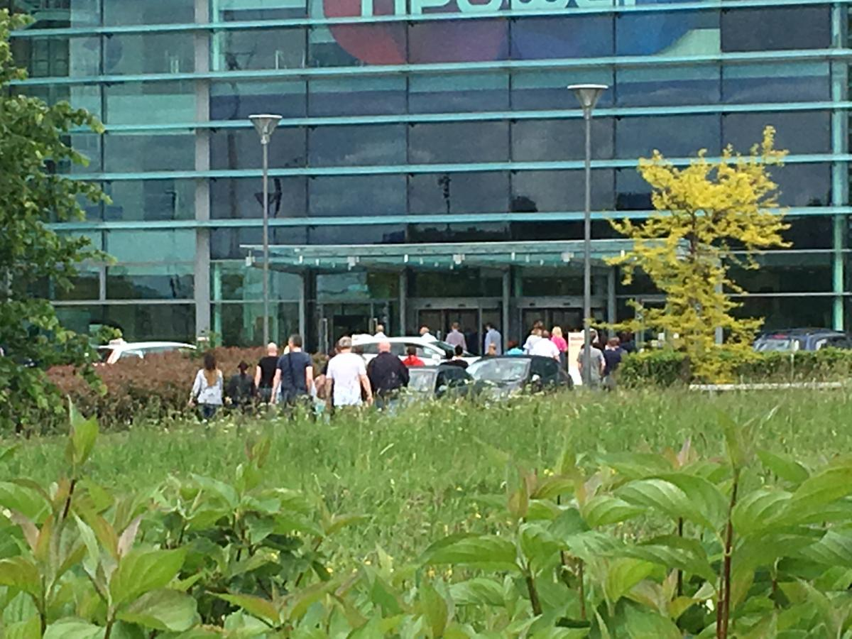 Workers at npower call centre at Rainton Bridge have