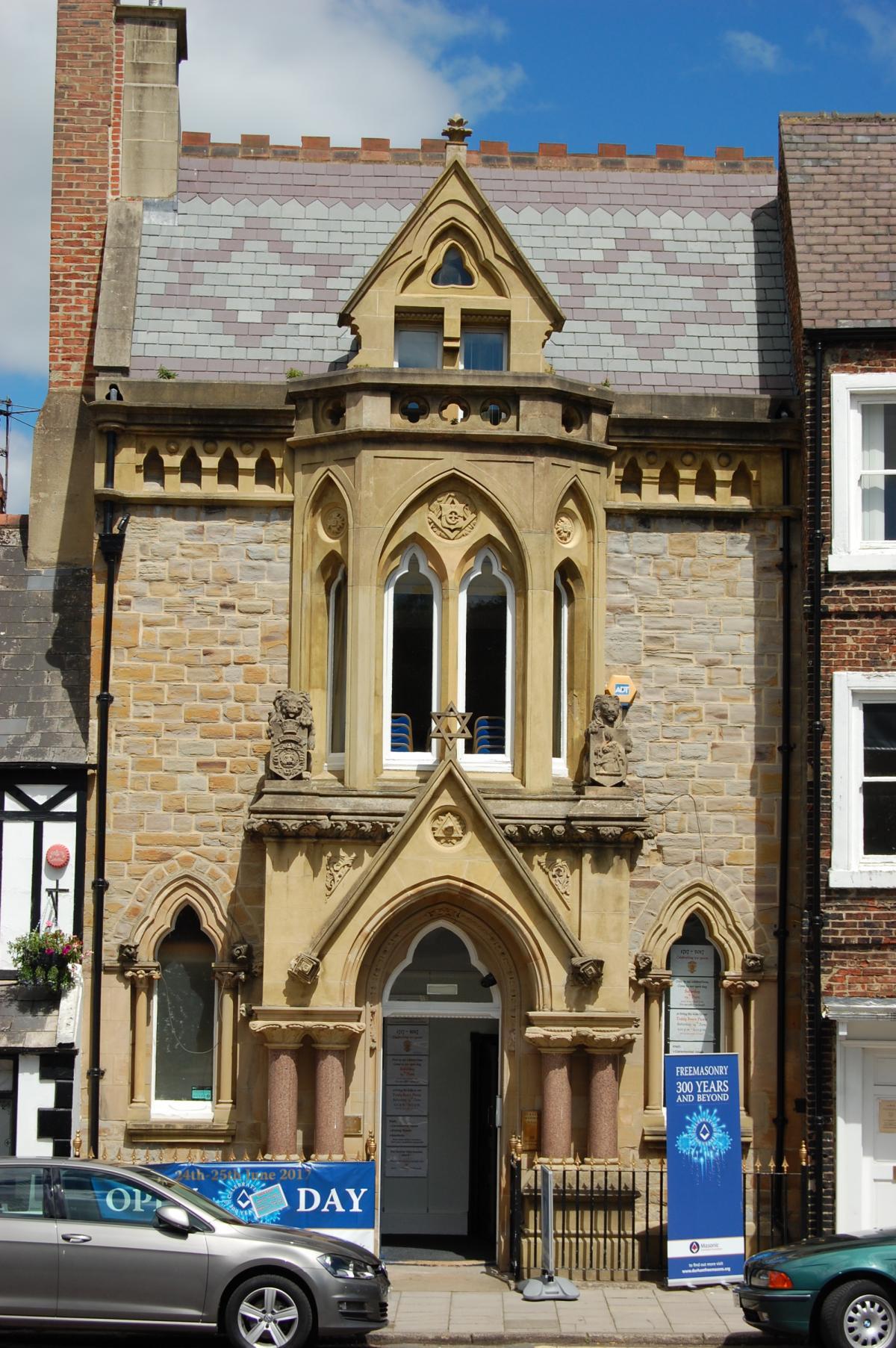 Masonic Lodge In Old Elvet Durham Opens Doors To Celebrate 300