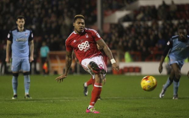 The Northern Echo: LINK: Burnley have been linked with a move for Forest striker Britt Assombalonga